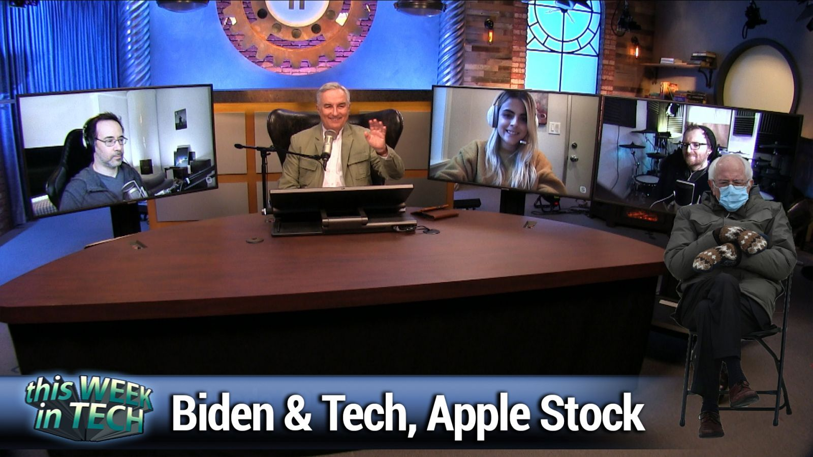 TWiT 807: The Shuffle Button for Food - Biden and big tech, the end of Loon, Apple stock soaring, Clubhouse