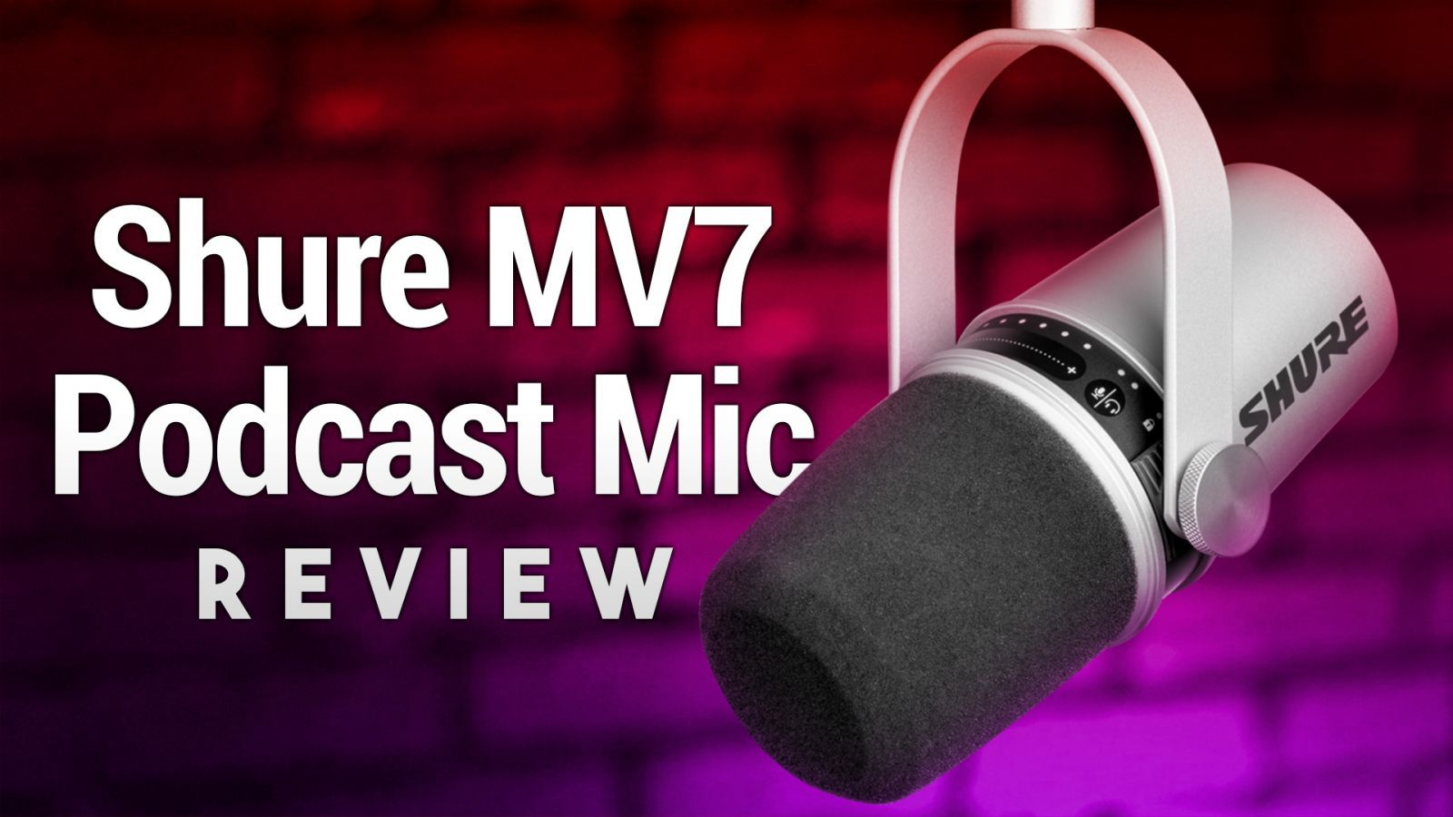 Shure MV7 Review - XLR/USB Streaming & Podcasting Microphone