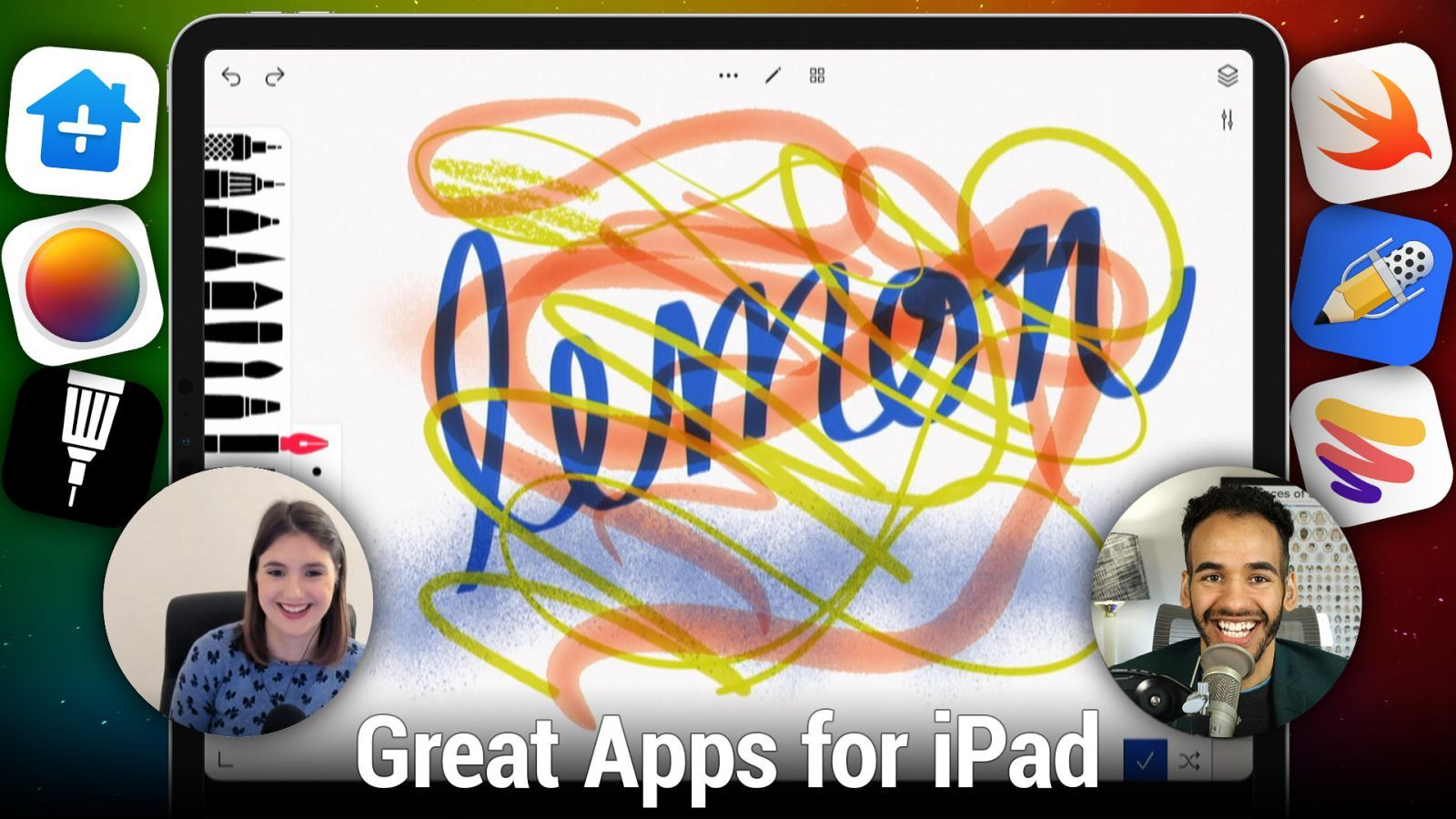 iOS 535: Great Apps for iPad - Paper, Notability, Tayasui Sketches, Pixelmator Photo, and more!
