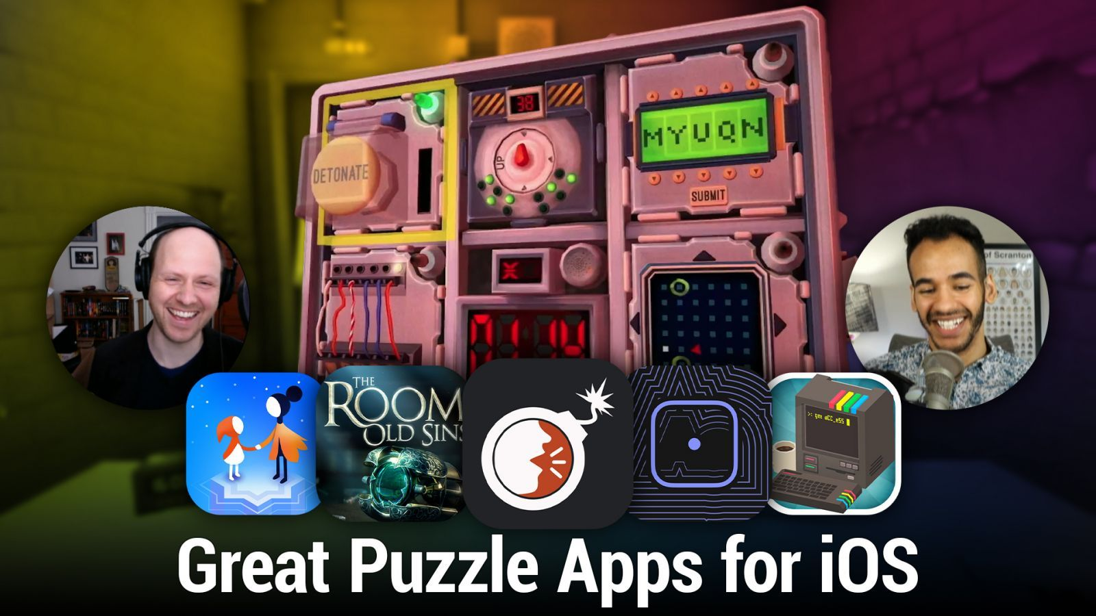 iOS 536: Great Puzzle Apps for iOS - The Room, Monument Valley 2, Get aCC_e55, and more.