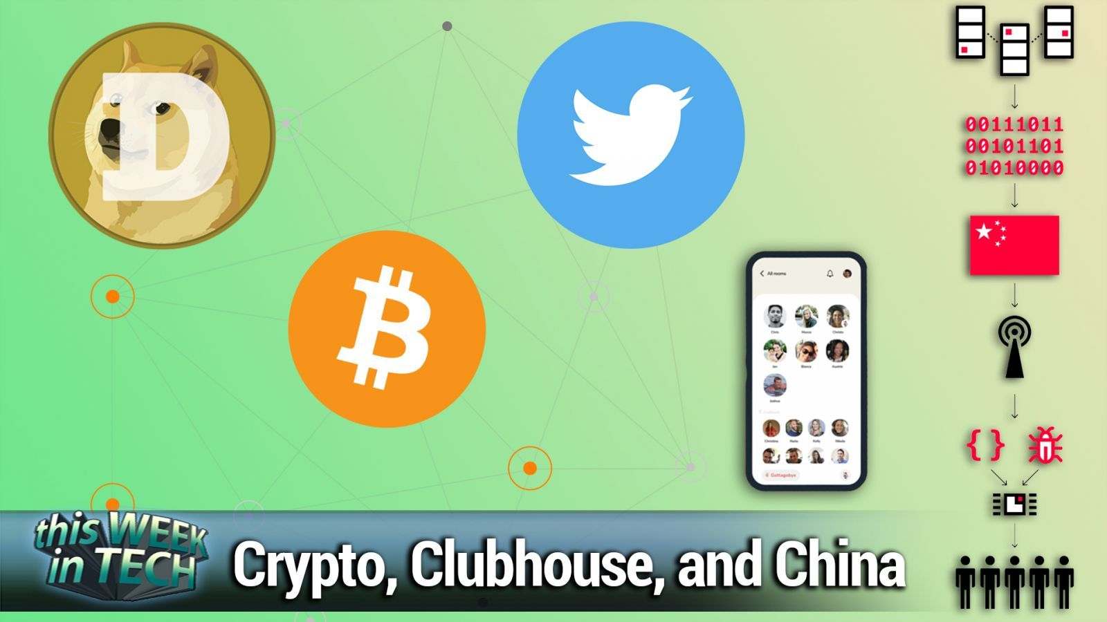 TWiT 810: In a Room With Oprah - Crypto legitimacy, Facebook wearable, Twitter's Bluesky, Supermicro hack