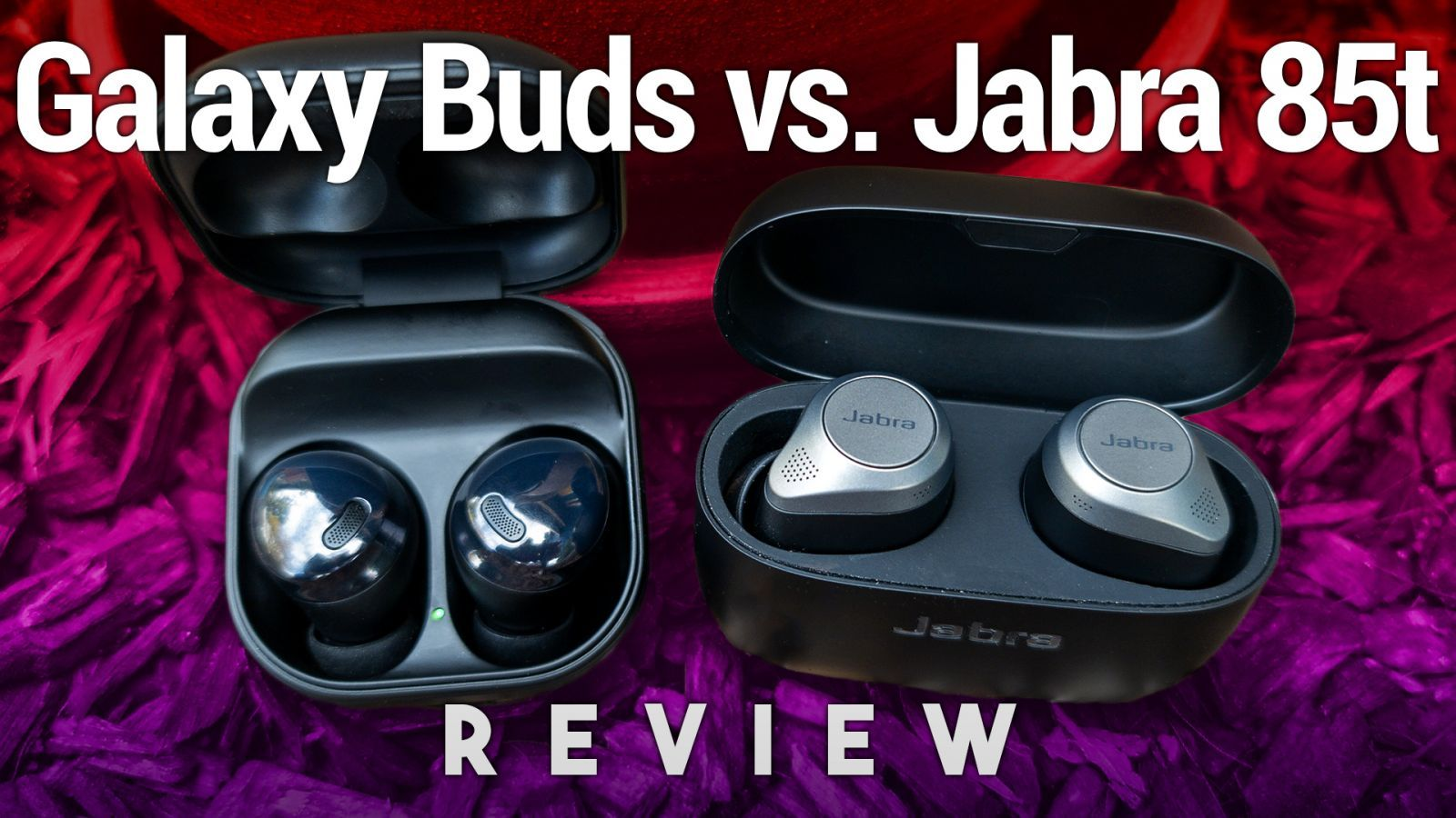 Galaxy Buds Pro vs. Jabra Elite 85t Review - Two Great Noise-Canceling Earbuds
