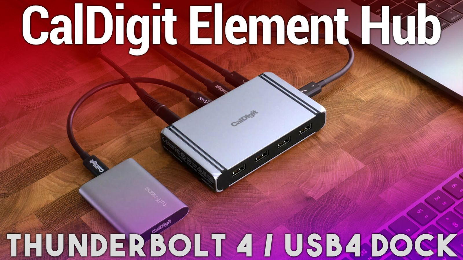 CalDigit Thunderbolt 4 / USB4 Element Hub Review - Add More 7 Ports to Your Mac, iPad, or PC