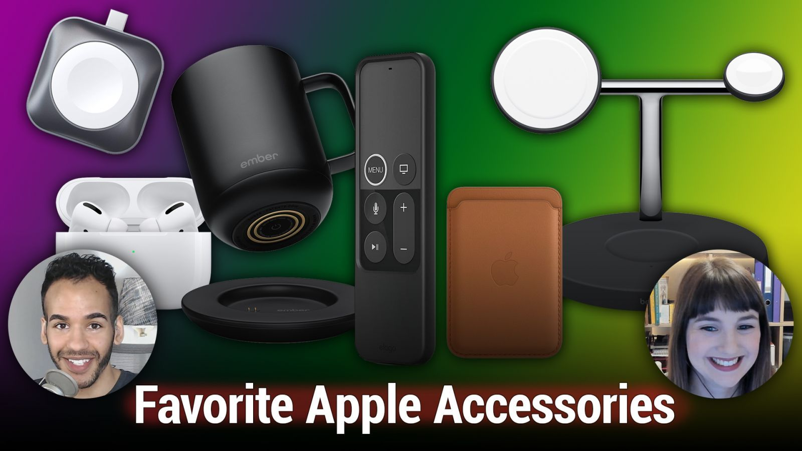 iOS 543: Our Favorite Apple Accessories - Belkin Boost Up, Satechi Apple Watch Charger, Ember Mug, more.