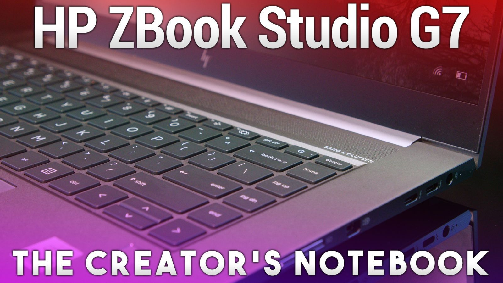 HP ZBook Studio G7 - Mobile Workstation for Creators