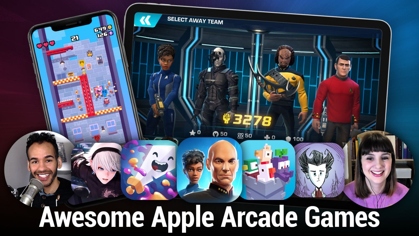 Awesome Apple Arcade Games - Crossy Road Castle, Star Trek: Legends, FANTASIAN, and more