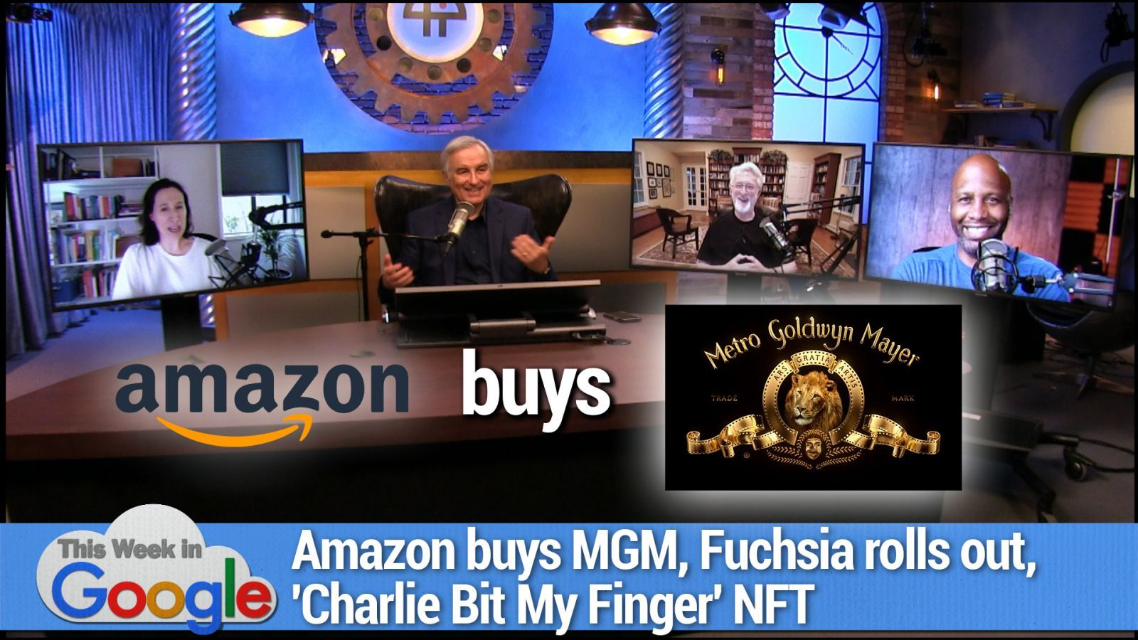 58% Normal - Amazon buying MGM catalogue, Fuchsia rolls out, 'Charlie Bit My Finger' NFT