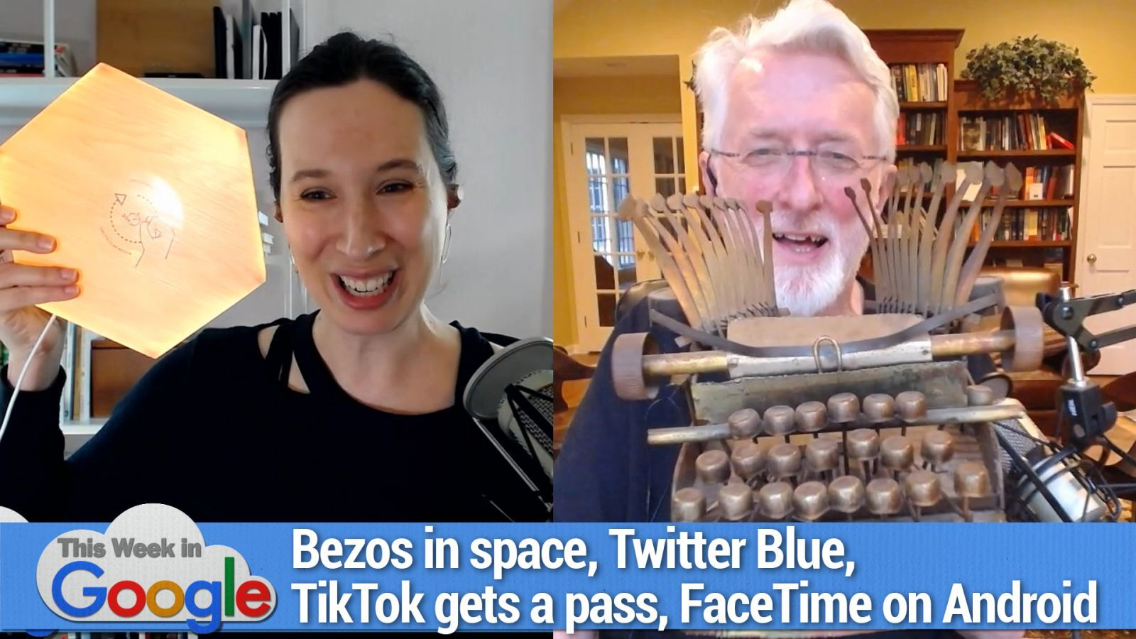 Bob is Unimpressed - Bezos in space, Twitter Blue, Biden gives TikTok a pass, FaceTime on Android