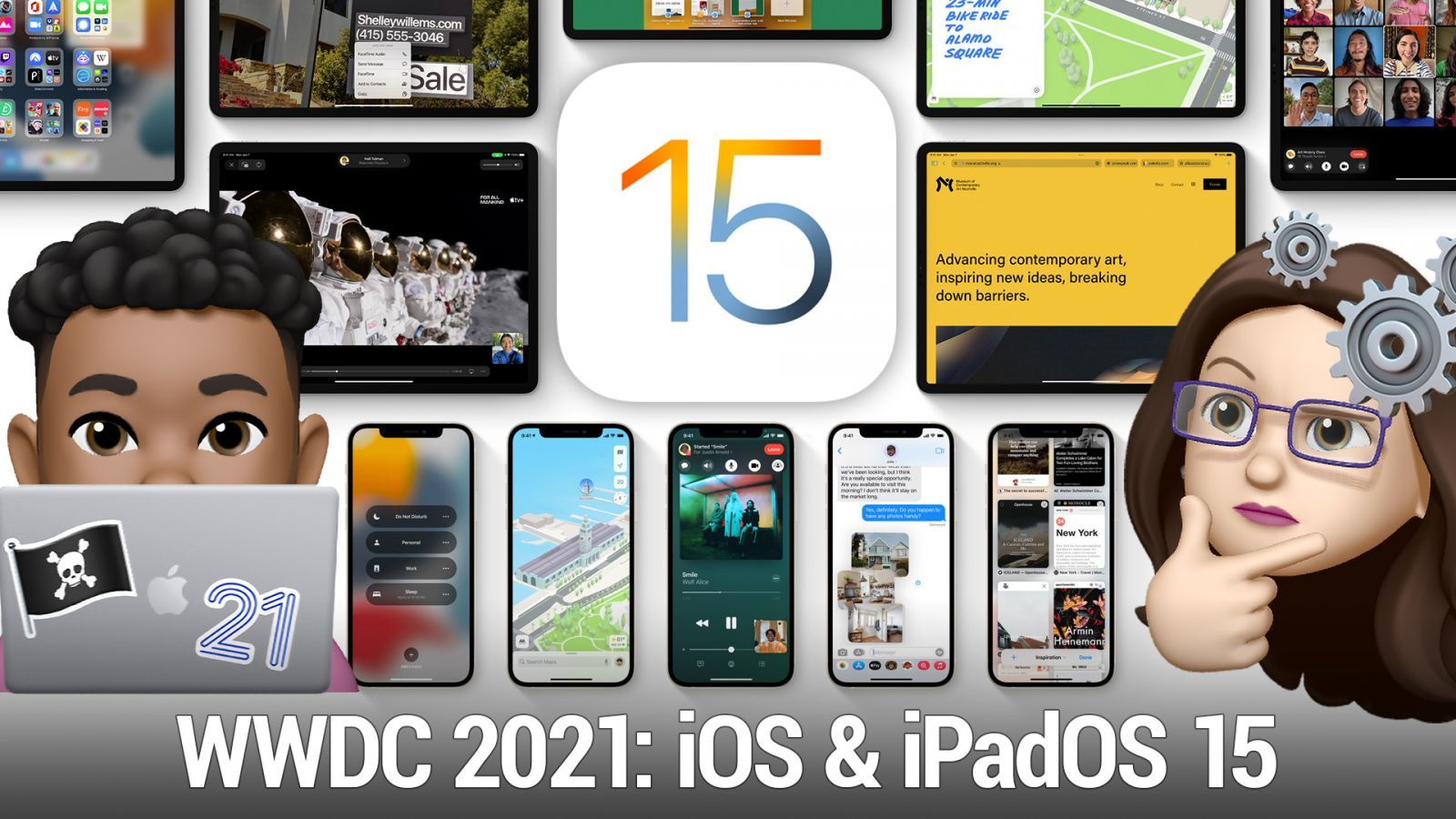 What to look forward to in iOS 15, iPadOS 15, and watchOS 8