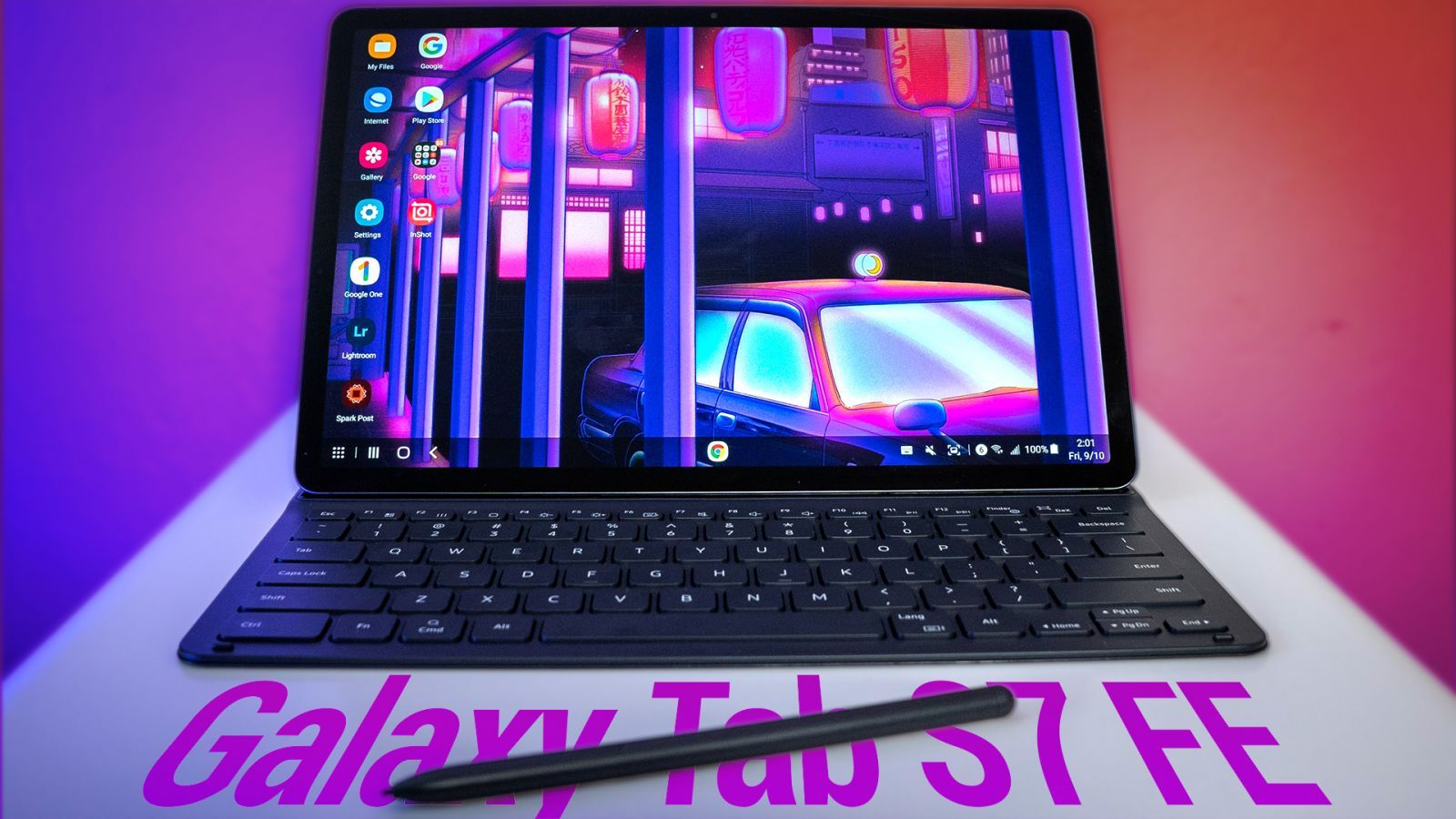 """Samsung Galaxy Tab S7 FE Review - Affordable 12.4"""" Android Tablet With 5G"""