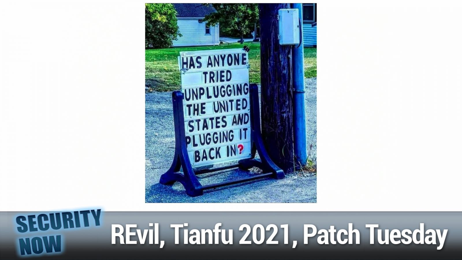 REvil Gone for Good? Tianfu Cup 2021, Patch Tuesday Aftermath